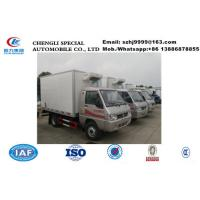 Wholesale hot sale best price dongfeng 4*2 LHD mini refrigerated minivan, wholesale bottom price dongfeng 1tons cold room truck from china suppliers