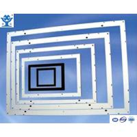 Wholesale Silver or black anodized extruded aluminum frame for solar panel from china suppliers