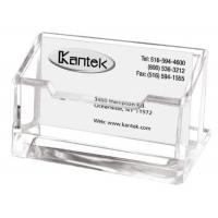 Wholesale Clear Acrylic Card Display Stand , Acrylic Business Card Holder With Pocket from china suppliers