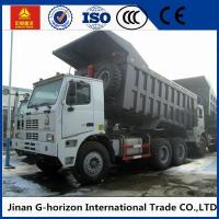 Wholesale 6×4 LHD RHD 371HP 70 Ton Heavy Duty Dump Truck SINOTRUK HOWO For Mining Area from china suppliers