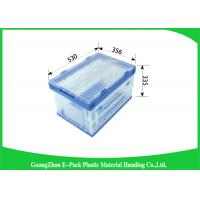 Wholesale Customized Collapsible Plastic Containerses Stocked For Vegetable And Fruits Storage from china suppliers