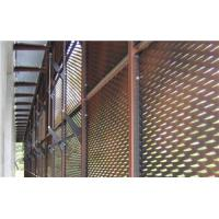 Buy cheap decorative aluminum expanded panel application in building from wholesalers