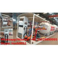 Wholesale China high quality and lower price 2.5tons-10tons mobile skid lpg gas refilling station with auto lpg gas dispenser(with from china suppliers