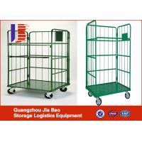 Buy cheap Collapsible transport trolleys Storage Racks Warehouse Trolley from wholesalers