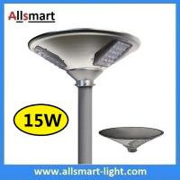 Wholesale New 15W 1500lm UFO Solar Garden Lights All In One Parking Lot Lamp Solar Energy Products With 30W Solar Panel Aluminum from china suppliers