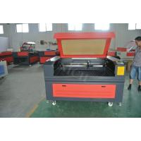 Wholesale Red and black 150w co2 laser cutter for acrylic / laser engraver machine 1290 from china suppliers