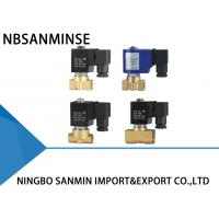 Wholesale High Flow Brass Solenoid Valve , Diaphragm Solenoid Valve P1 Compact Series from china suppliers