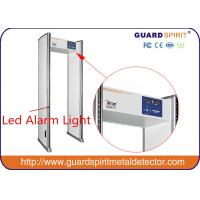 Wholesale Public security check Walk Through Metal Detector scanner 6 zone 1990mm X700mm X500mm from china suppliers