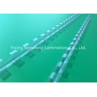 Quality 21 Rings Transparent Plastic Binding Combs 8mm Diameter For A4 Paper for sale