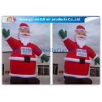Wholesale 8m Giant Inflatable Blow Up Santa Claus Decoration Christmas Customized from china suppliers