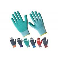 Wholesale Working Cotton Palm Safety Industrial Latex Coated Glove from china suppliers