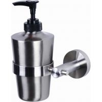 Wholesale Stainless Steel Tray Form Soap / Sanitizer Dispenser Bathroom Hardware Sets from china suppliers