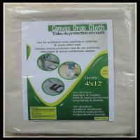Buy cheap Printed Logo Cotton Drop Cloth 6X9 Supplier/Provider, Cheap Price,Good Quality from wholesalers