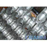 Buy cheap Alloy 600 Nickel Alloy Steel Equal & Reducing Tee Inconel Nickel Alloy Fittings from wholesalers