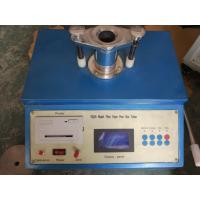 Buy cheap Paper Testing Equipment for Filter Paper Pore Size , Air Pressure 0 - 20kpa from wholesalers