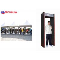 Wholesale 6 pinpoint zones walk through metal detector with waterproof for Factories from china suppliers