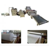 Wholesale Automatic Polyester Mattress Production Line High Efficient 150 Kg/H Capacity from china suppliers