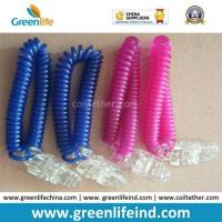 Wholesale Plastic Alligator Clip Wrist Band Lanyard Flex Worm Loops from china suppliers