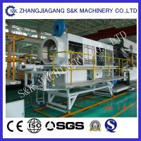 Wholesale Pvc Corrugated Twin Screw Twin Screw Extruder Machine Conical , Tube Extrusion Machine from china suppliers