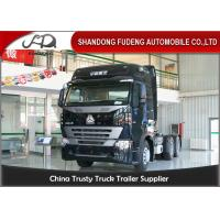 Wholesale CNHTC 6 × 4 SinotrukTractor Head Trucks With 10 Wheel  HOWO A7 Model 420HP from china suppliers
