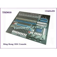 Quality Professional Stage Lighting Console KingKong 1024 DMX  lighting Controller/  DMX512 Console For DJ Disco for sale