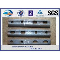 Wholesale Oiled / Oxide Black Rail Joint Bar / Fishplates With GB Standard from china suppliers