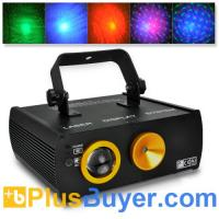Wholesale Sound Activated Red and Green Laser DMX Projector with Cloud Effects from china suppliers