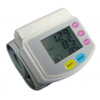 Wholesale Automatic digital portable LCD arm wrist blood pressure monitor with battery CE approval from china suppliers