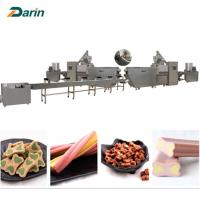 Wholesale Good Pet Treats Dog Chews Bone food Extruder Machine  ISO9001 2008 Certification from china suppliers