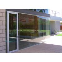 Quality Clear / Tint Laminated Tempered Safety Glass , Solid tempered window glass for sale