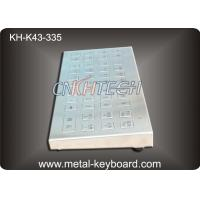 Wholesale IP65 Rate Ruggedized Keyboard for Charging Kiosk , Stainless Steel Keyboard from china suppliers