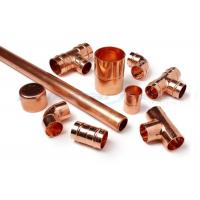 Wholesale 3 Way Cross Coupling Straight Tap Connector , 1/4 Inch Copper End Feed Fittings from china suppliers