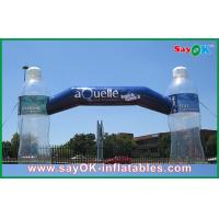 Wholesale Advertising Inflatable Arch With Clear Bottle Custom Inflatable Products from china suppliers