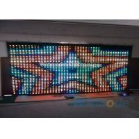 Wholesale RGB Tri Color P5 Led Curtain Wall 7 Chs , Fiber Optic Curtain For Dance Halls from china suppliers
