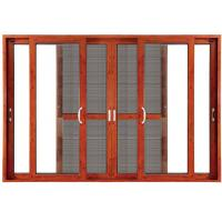 Wholesale Double Clear Indoor Sliding Glass Doors Blinds Anodized Aluminium from china suppliers