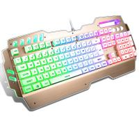 Wholesale Anti Ghosting PC Gaming keyboard Aluminum Alloy Panel Waterproof FCC CE ROHS IP from china suppliers