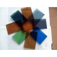 Buy cheap 5mm Bronze Solar Reflective Glass, Colored Flat Tempered Glass with EU CE CCC from wholesalers