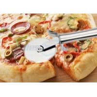 Wholesale Round Pastry Stainless Steel Pizza Cutting Knife Multi Functional Heavy Duty from china suppliers