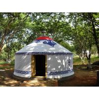 Wholesale Customized  Bamboo Material Mongolian Yurt Tent Outdoor For Tourist Event from china suppliers