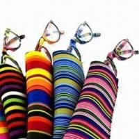 Wholesale Fashionable plastic reading glasses with same pattern case from china suppliers