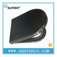 European Standard Soft Close D Shape Black Toilet Seat Covers