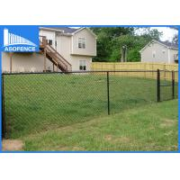 Wholesale 50*50mm Eco Friendly Chain Link Security Fence For Park / Road Side from china suppliers