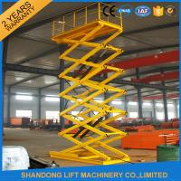 Wholesale Stationary Hydraulic Aerial Scissor Lift Equipment 9m Lifting Height 1000kgs Loading Capacity from china suppliers