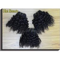 """Wholesale 5A Grade Malaysian Human Hair Extensions Kinky Wave 8""""- 28"""" Natural Black 1b# from china suppliers"""