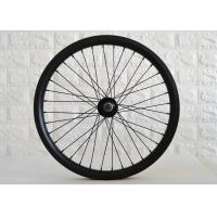 Wholesale 32mm Width Carbon BMX Wheels Double Wall Construction 100*10mm Front Hub from china suppliers
