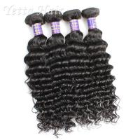 Wholesale Customized 7A European Weft Hair Extensions  Deep Wave No Chemical from china suppliers