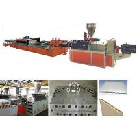 Wholesale PLC Control PVC Profile Extrusion Machine / PVC Door Making Machine from china suppliers