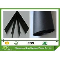 Wholesale Wood Pulp Black Paper Board 110 - 450gsm Smooth Face Black Chipboard MSDS from china suppliers