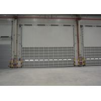 Wholesale Easy operating single sheet industrial Aluminum Overhead Door with hard material from china suppliers