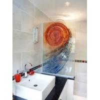 Wholesale 15mm Fuse Tempered Glass Shower Partition 1200*2400mm For Hotel from china suppliers